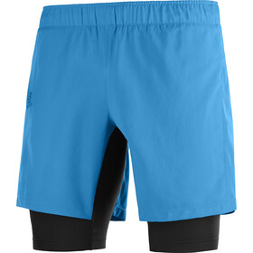 Salomon Agile Twinskin Shorts Heren, vivid blue